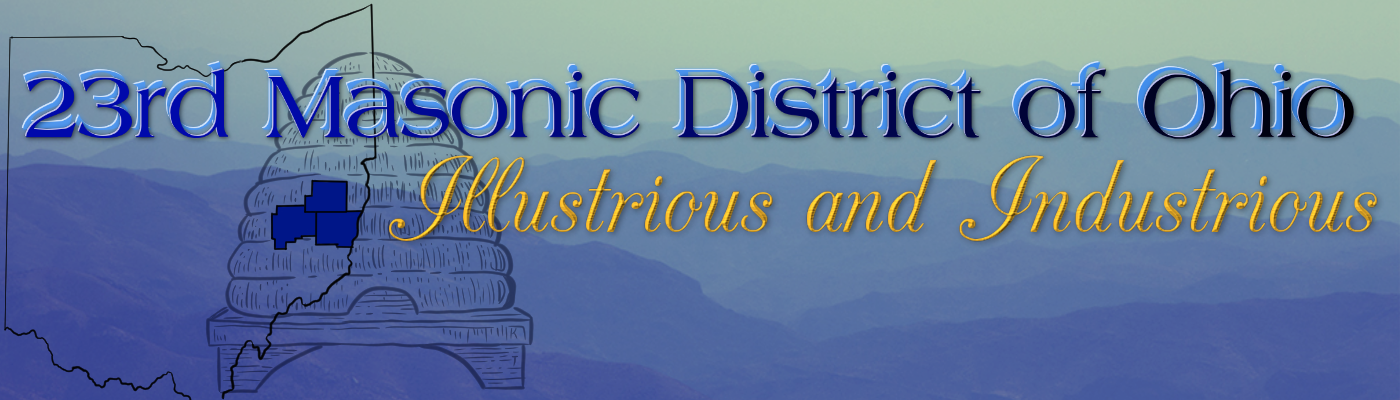 23rd Masonic District of Ohio